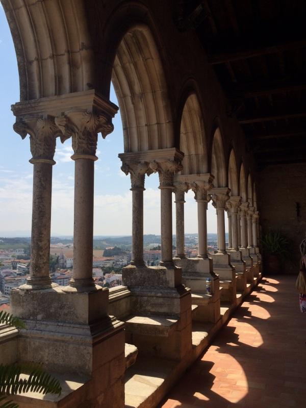 View from Castelo de Leiria