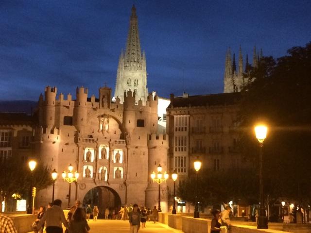 Burgos city gate