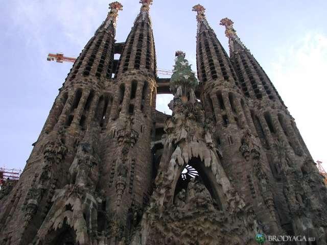 La Sagrada Familia - Nativity facade