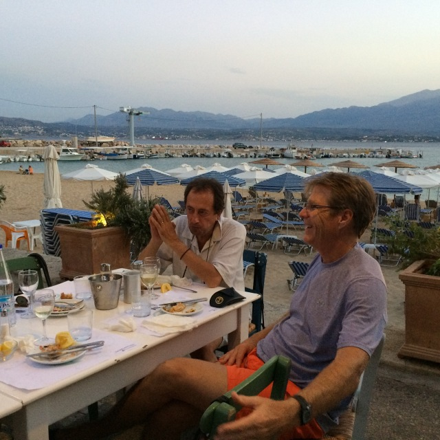 friends, food and the sea - perfect ingredients for a soul-feast