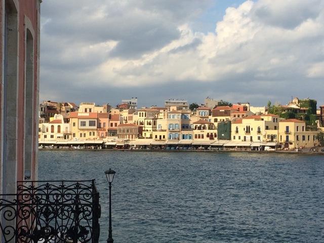 Venetian old harbor in Hania
