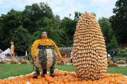 Pumpkinfest sculptures - Ludwigsburg, Germany